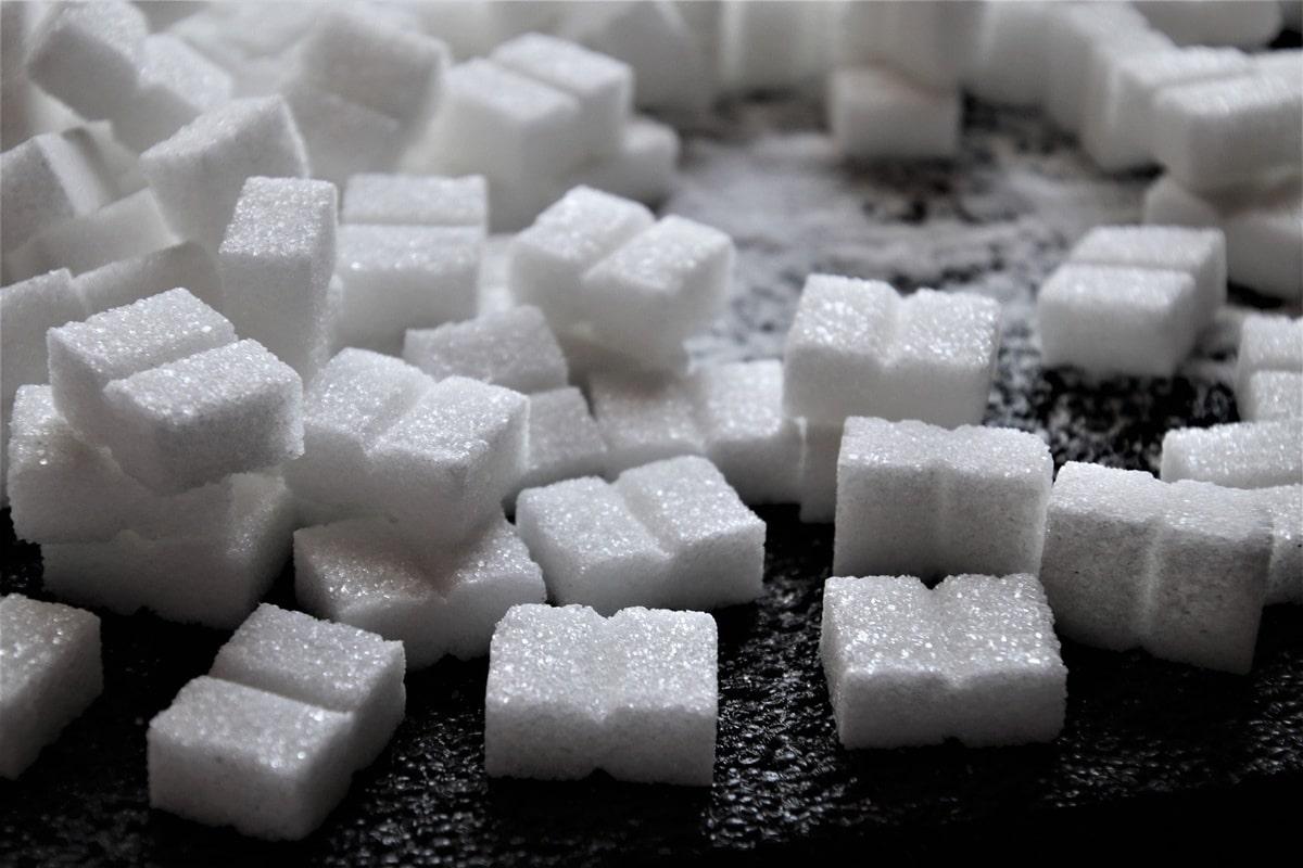 carrés sucre blanc
