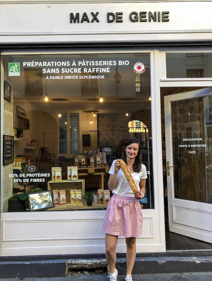 Eugénie obtient son CAP Boulanger