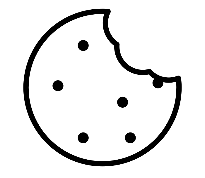 icône cookie mangé