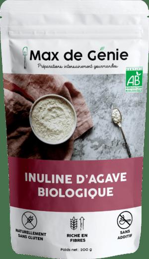 Inuline d'agave bio en poudre (200g)
