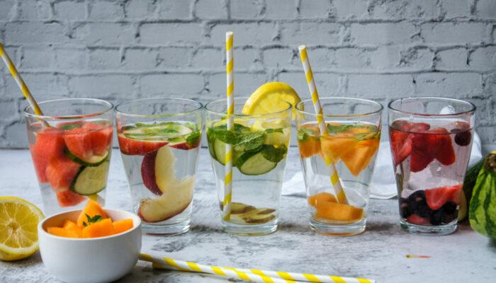 Eaux aromatisées : nos recettes plaisir de l'été