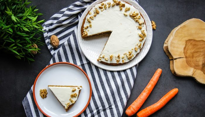 Carrot cake sans matières grasses