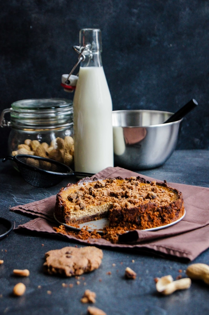 Cheescake cookie chocolat