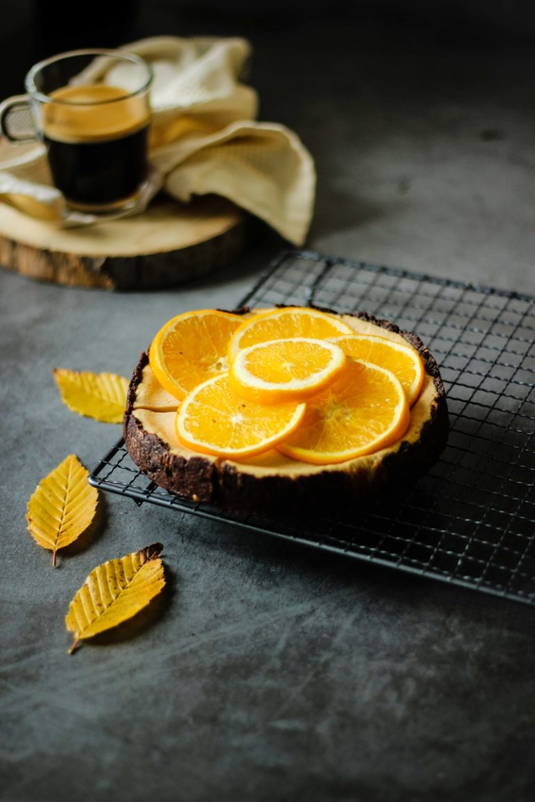 Cheescake à l'orange