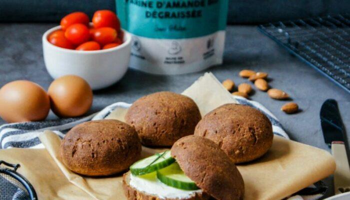 Minis pains cétogènes à la farine d'amande