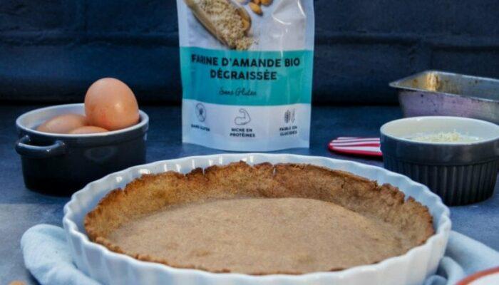 Pâte à tarte cétogène à la farine d'amande