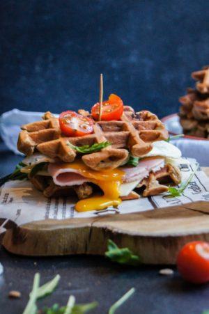 Recette de Gaufres Sandwich