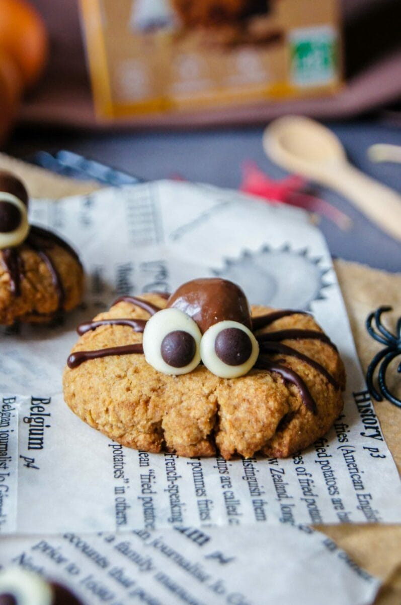 Cookie araignée Halloween