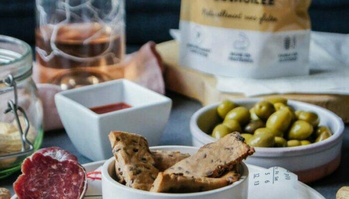 Recette de crackers low carb à la farine de cacahuète