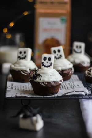 Muffins d'Halloween façon Mister Jack