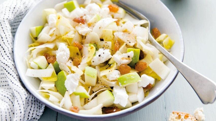 salade endives pommes chevre par Femme Actuelle