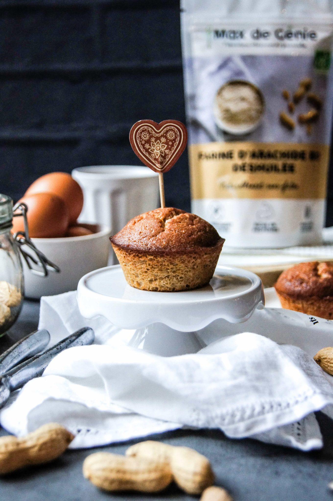 Muffins à la farine d'arachide