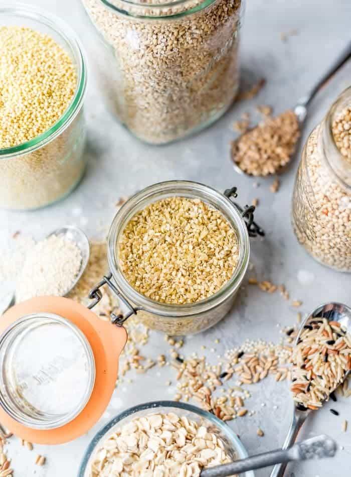 Céréales et féculents IG bas