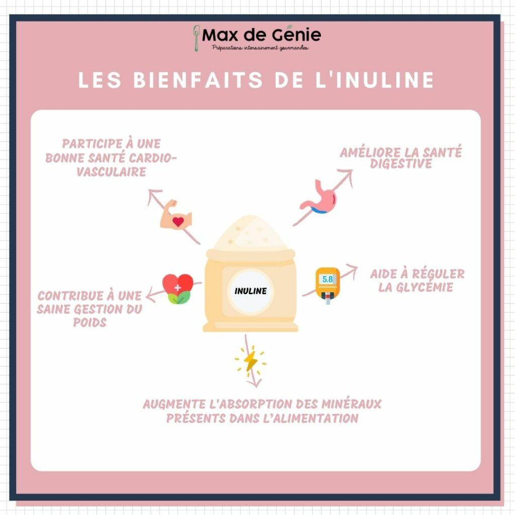 Infographie bienfaits inuline