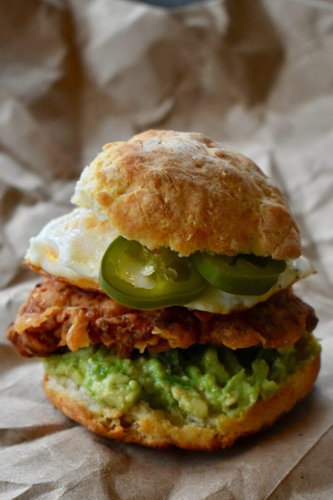 guacamole pour burger IG bas