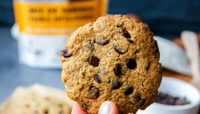 Recette de cookies keto aux pépites de chocolat