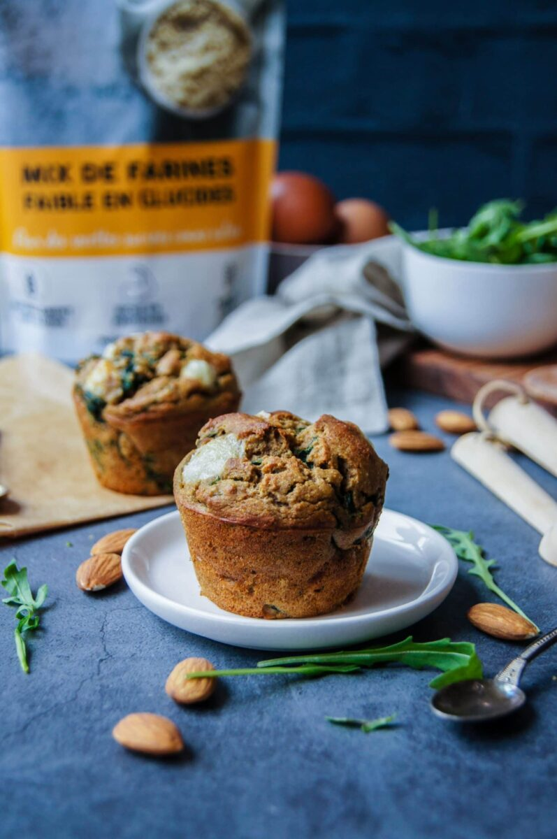 Muffins salés Keto