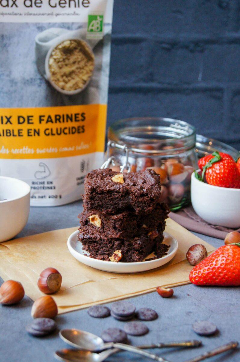 brownie Keto sans gluten