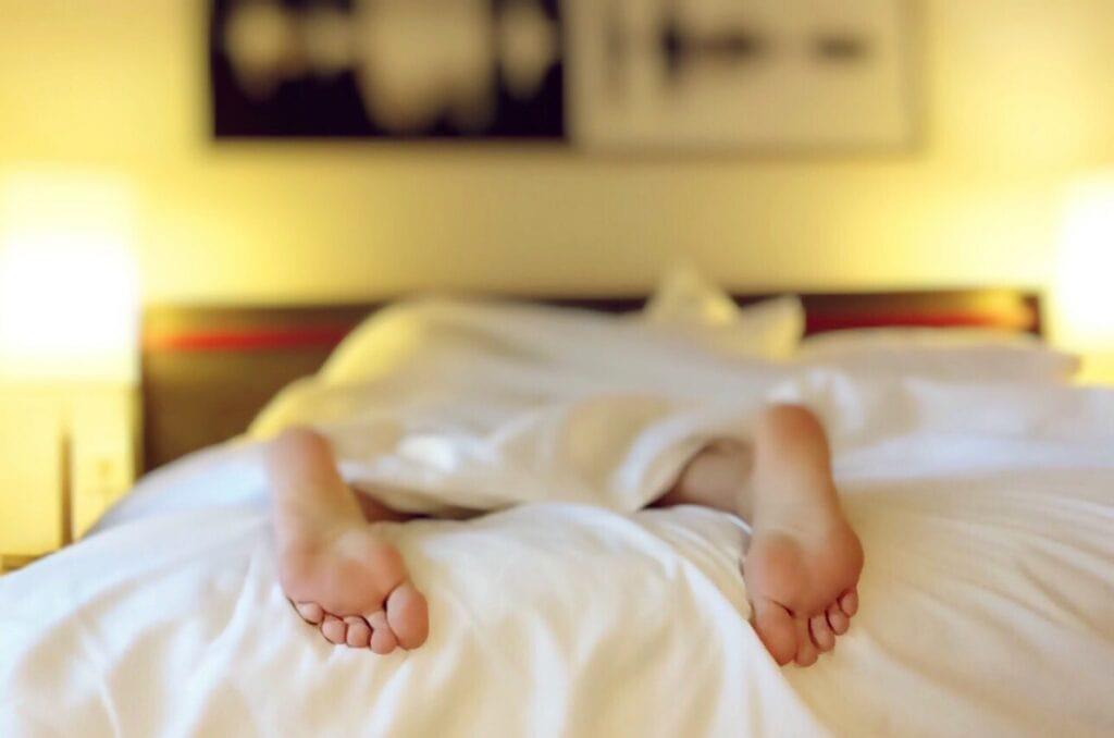 dormir dans un lit