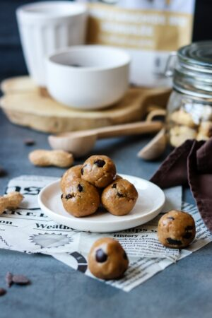 Energy balls Farine de cacahuète