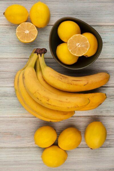 bananes et citrons