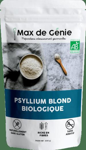Psyllium blond bio en poudre (200g)