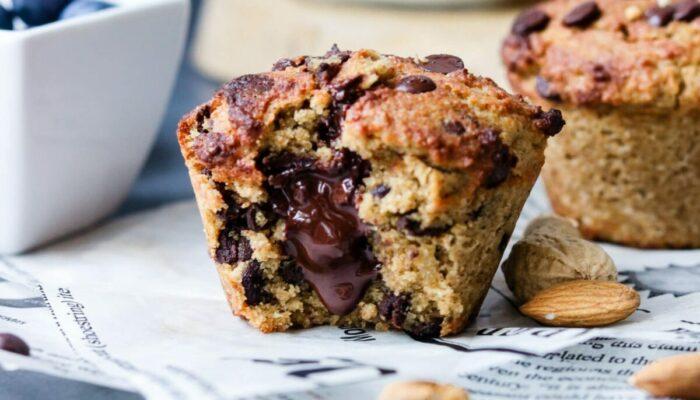 Recette de muffins keto coeur coulant au chocolat