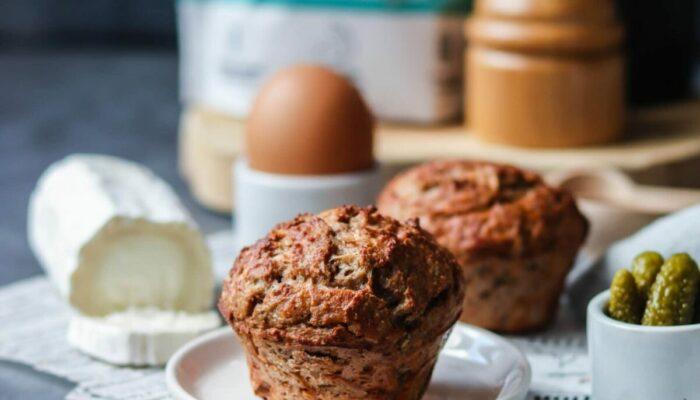 Recette de muffins salés faibles en glucides et sans gluten