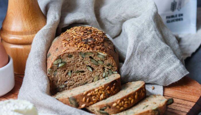 Recette de pain keto sans gluten