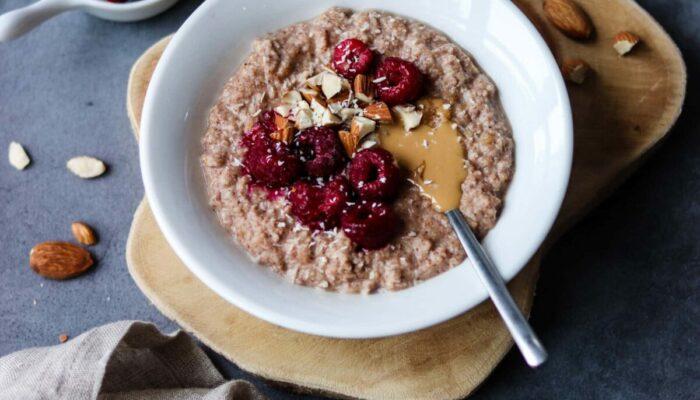 Recette de porridge keto amande et coco