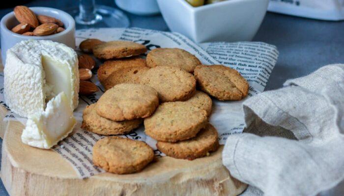 Recette de biscuits salés keto au fromage
