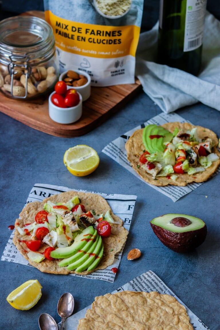 Tortillas faibles en glucides