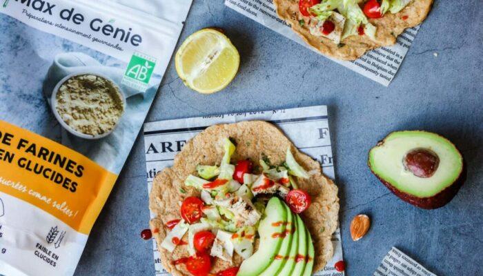 Recette de tortillas keto