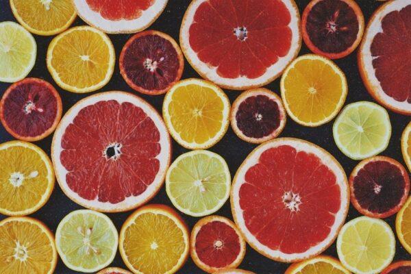 pamplemousse citron et orange