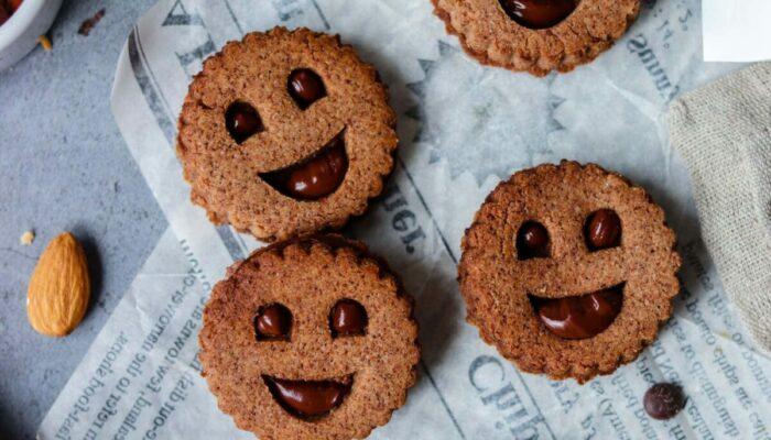 Recette de biscuits façon BN fourrés au chocolat