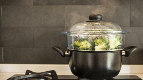 Cuisson vapeur brocolis