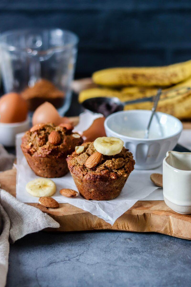 Mini Banana Bread amandes