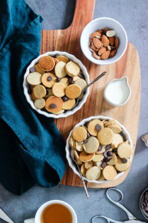 mini pancakes façon céréales - 3