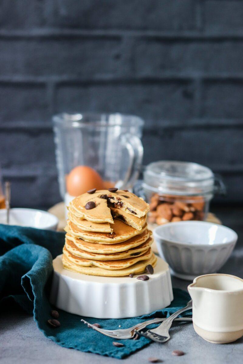 Pancakes pépites de chocolat-3