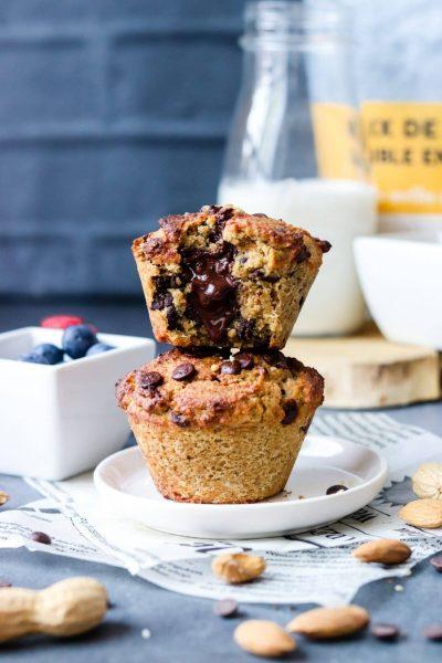 Muffins coeur coulant faible en glucides-2