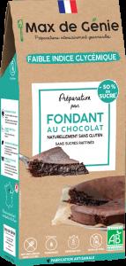 Packaging fondant au chocolat