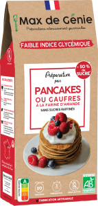 Packaging Pancakes ou gaufres